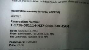 Bus Ticket